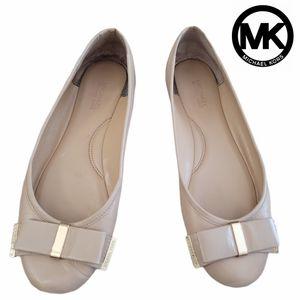 Michael Kors Bow Ballerina Flats